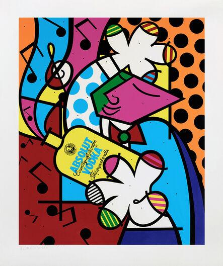 Romero Britto, 'ABSOLUT BRITTO II', 1993