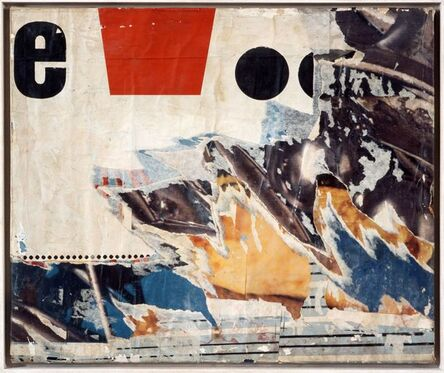 Jacques Villeglé, 'Impasse de la Compression', 1967