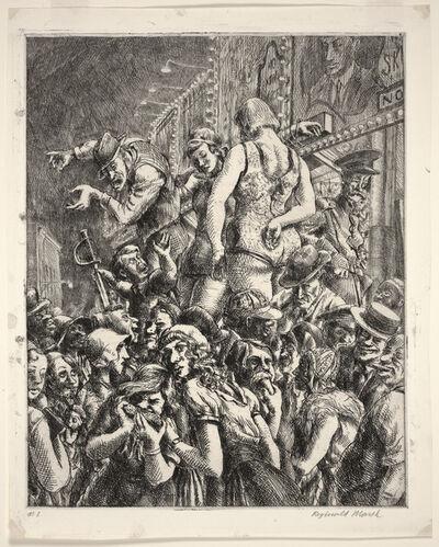 Reginald Marsh, 'The Barker', 1931