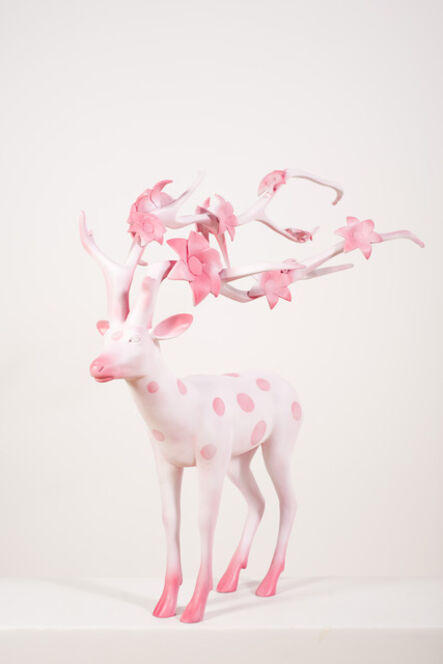 Qin Weihong, 'The Cherry Blossom Deer', 2012