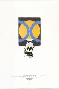 Hank Schmidt in der Beek, 'Collage Nr. 449 (Charlie Braun/Rodtschenko)', 2011