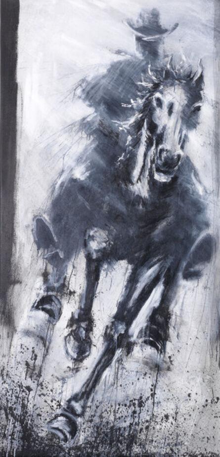 Richard Hambleton, 'Horse and Rider, Straight Ahead', 2004