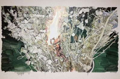 Sodam Lim, 'Fire on the flowers', 2014