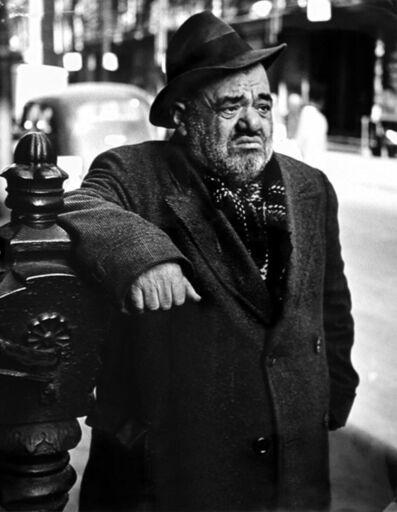 Lisette Model, 'Lower East Side (man), New York', ca. 1939