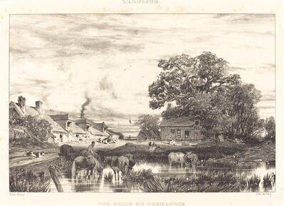 Jules Dupré, 'View in Normandy (Vue prise en Normandie)', 1835