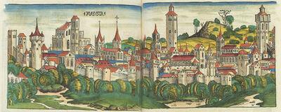 Hartmann Schedel (author), Michel Wolgemut, Wilhelm Pleydenwurff,and Albrecht Durer, 'Liber Chronicarum (Nuremberg Chronicle)', published 1493