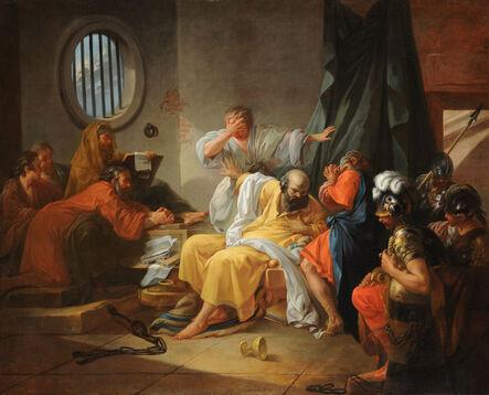 Jacques Phillippe Joseph de Saint Quentin, 'Death of Socrates', 1762