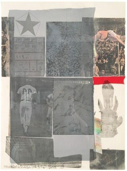 Robert Rauschenberg, 'Back Out', 1979
