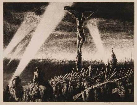 Kerr Eby, 'Barrage', 1933