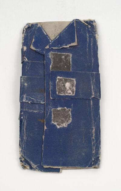 James Castle, 'Untitled (Blue coat construction)', n.d.