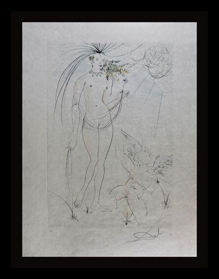Salvador Dalí, 'Hommage a Albrecht Durer Venus & Cupid', 1971