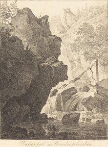 Max Joseph Wagenbauer, 'The Waterfall (Wasserfall im Werdenfelsischen)', 1805