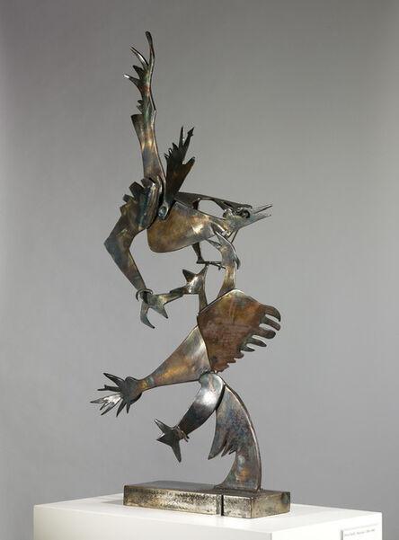 David Smith (1906-1965), 'Cockfight', 1945