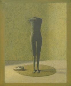 David Tindle, 'Two in a Space, 'Artist and Model' Series', 1996