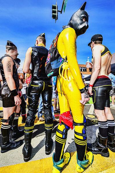Mitchell Funk, 'Folsom Street Fair.   BDSM  Leather Event  #6', 2015