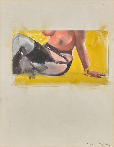 Claes Oldenburg, 'Untitled (Nude)', 1962