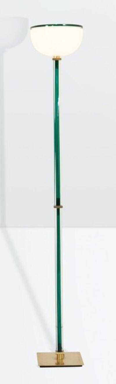 Venini, 'a Tolboi floor lamp in hand-blown glass', ca. 1985