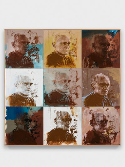 Andy Warhol, 'Philip Johnson', 1972