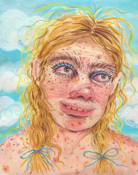 Rebecca Morgan, 'Blue Ribbon Girl', 2016