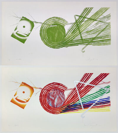 James Rosenquist, 'SPOKES AND SPOKES: 2 STATE', 1977-1978