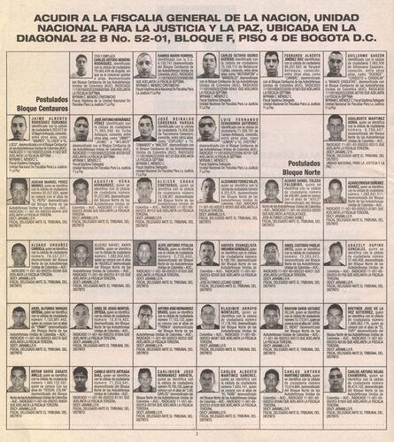 José Alejandro Restrepo, 'Dar la cara (24 paramilitares desmovilizados por segundo)', 2013