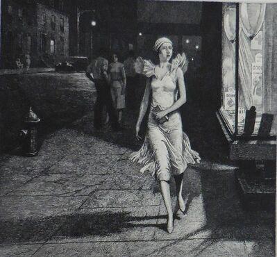 "Martin Lewis, '""Night in New York""', 1932"