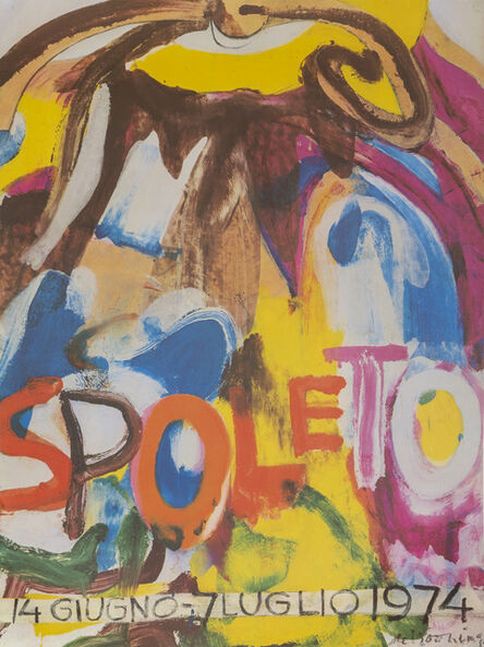 Willem de Kooning, 'Spoleto', 1974