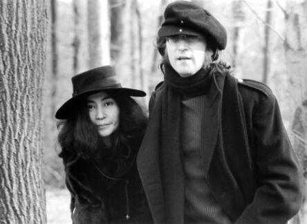 Bob Gruen, 'John Lennon and Yoko Ono in Central Park', 1973