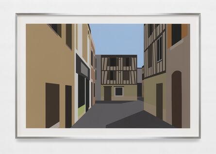Julian Opie, 'French Village 6.', 2021