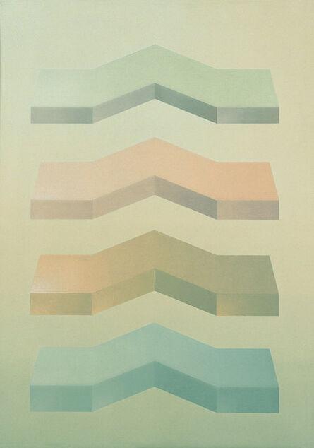 Miguel Caride, 'Ofrecimiento de la luz', 1973