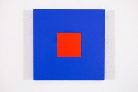 Claude Tousignant, 'Blue cobalt + rouge red', 2017