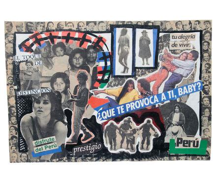 Herbert Rodríguez, 'Perú, ¿qué te provoca a ti, baby?', 1987-1988