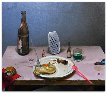 Michael Kirkham, 'Schülzkottelet und Steine', 2016