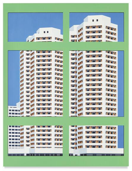 Daniel Rich, 'Nostalgia of the Infinite (Green Window)', 2019