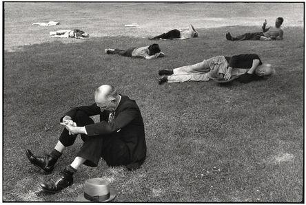Henri Cartier-Bresson, 'Boston Commons', 1947