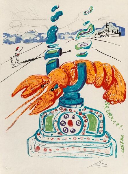 Salvador Dalí, 'Imaginations and Objects of the Future, deluxe edition with special etching Dalinian Prophecy', 1975-76