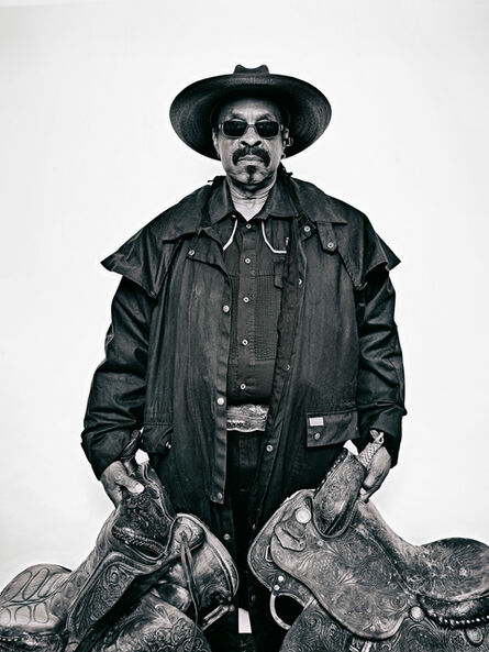 """Brad Trent, 'Arthur """"J.R."""" Fulmore, from """"The Federation of Black Cowboys"""" series for The Village Voice', 2016"""