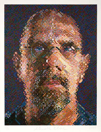 Chuck Close, 'Self-Portrait', 2007