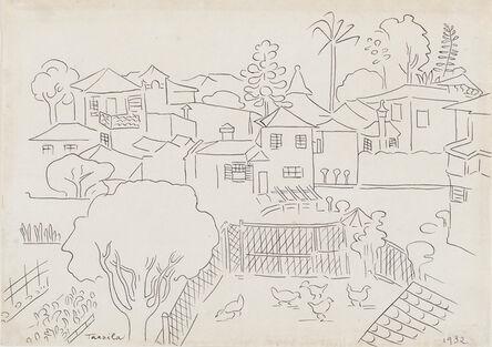Tarsila do Amaral, 'Vista do bairro Paraíso [View of Paraíso neighborhood]', 1932