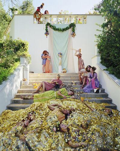 Eleanor Antin, 'The Golden Death', 2001