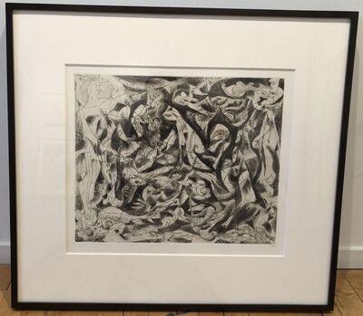 Jackson Pollock, 'Untitiled (P14)', 1944-45