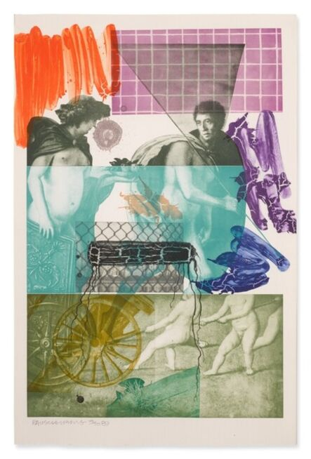 Robert Rauschenberg, 'Bellini No. 5', 1989