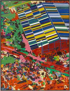 Matthew Day Jackson, 'Unicursal Labyrinth', 2014