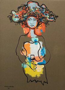 René Portocarrero, 'Figura Ornamentada', 1976