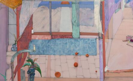 Fabian Treiber, 'Gape across the Corridor', 2021