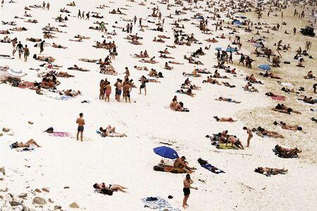 Lala Serrano, 'Crowded Bondi Beach', 2017