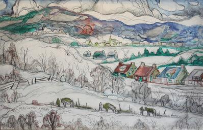 Marc-Aurèle Fortin, 'Winter Village'
