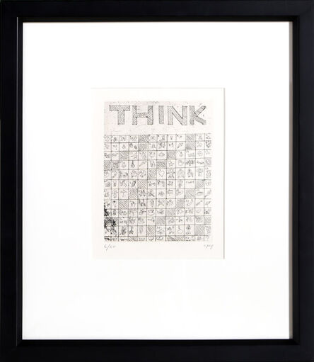 William Nelson Copley, 'Think', 1962