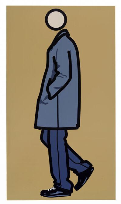 Julian Opie, 'Jeremy Walking in Coat', 2010