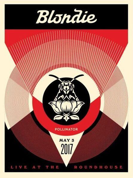 Shepard Fairey, 'Live at Roundhouse (BLONDIE: Polinator album Tour)', ca. 2018